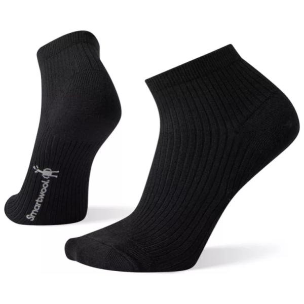 smartwool womens texture mini bootie sock black